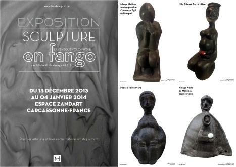 """Collection """"Les Noires en Fango"""" Mickaël Hoebregs"""